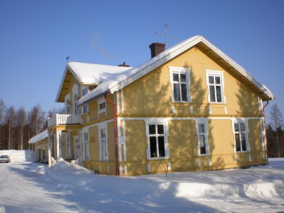 The house of Agneta and Ola von Koskull in Fredrika, where the first NLVS reteats took place.